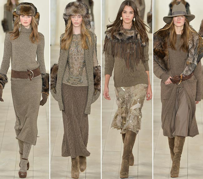 Ralph Lauren Fall/Winter 2015-2016 Collection – New York Fashion Week