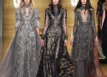 Reem Acra Fall/Winter 2015-2016 Collection – New York Fashion Week