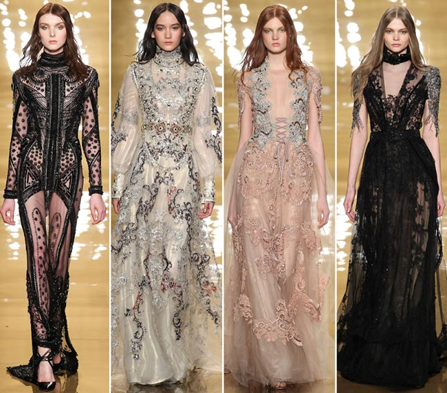 Reem Acra Fall/Winter 2015-2016 Collection - New York Fashion Week