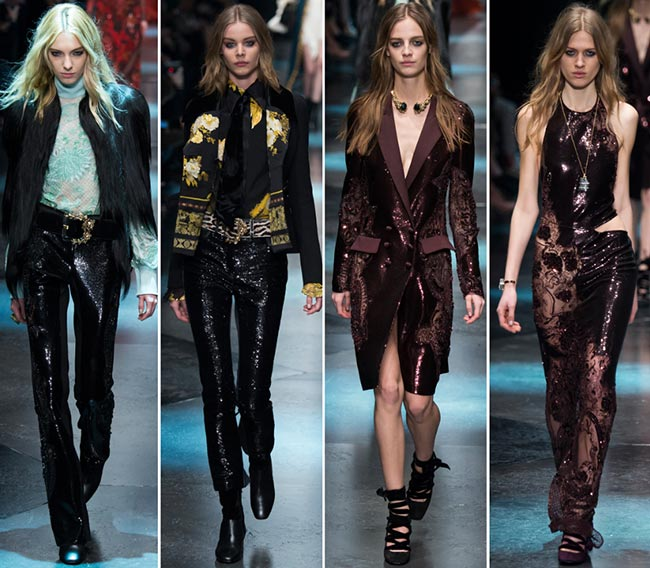 Roberto Cavalli Fall/Winter 2015-2016 Collection - Milan Fashion Week