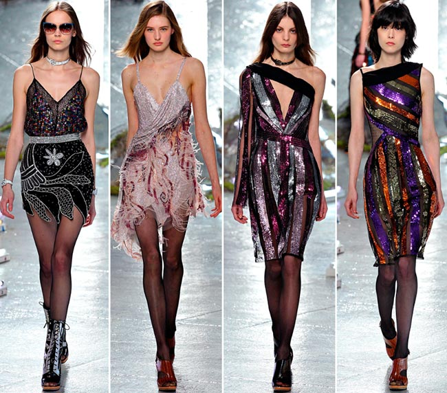 Rodarte Fall/Winter 2015-2016 Collection - New York Fashion Week