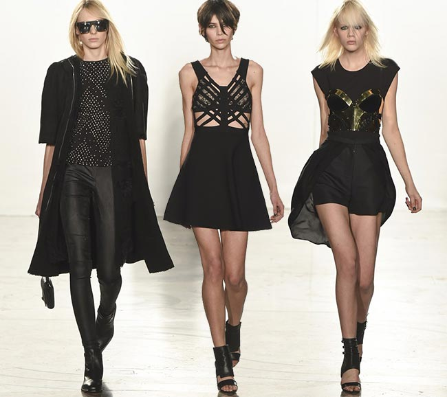 Sass & Bide Fall/Winter 2015-2016 Collection