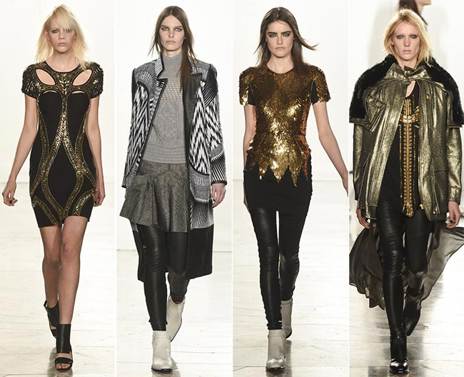 Sass & Bide Fall/Winter 2015-2016 Collection – London Fashion Week