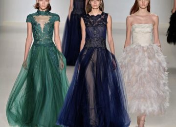 Tadashi Shoji Fall/Winter 2015-2016 Collection – New York Fashion Week