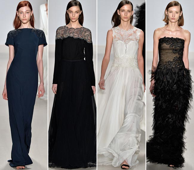 Tadashi Shoji Fall/Winter 2015-2016 Collection - New York Fashion Week