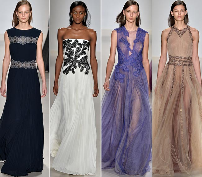Tadashi Shoji Fall/Winter 2015-2016 Collection - New York Fashion Week