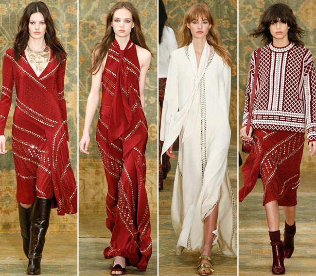 Tory Burch Fall/Winter 2015-2016 Collection – New York Fashion Week