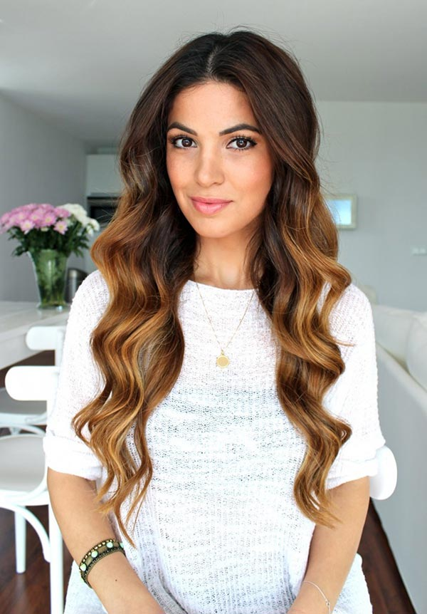 Romantic Hairstyle Tutorials for Valentine's Day: Bouncy Curls
