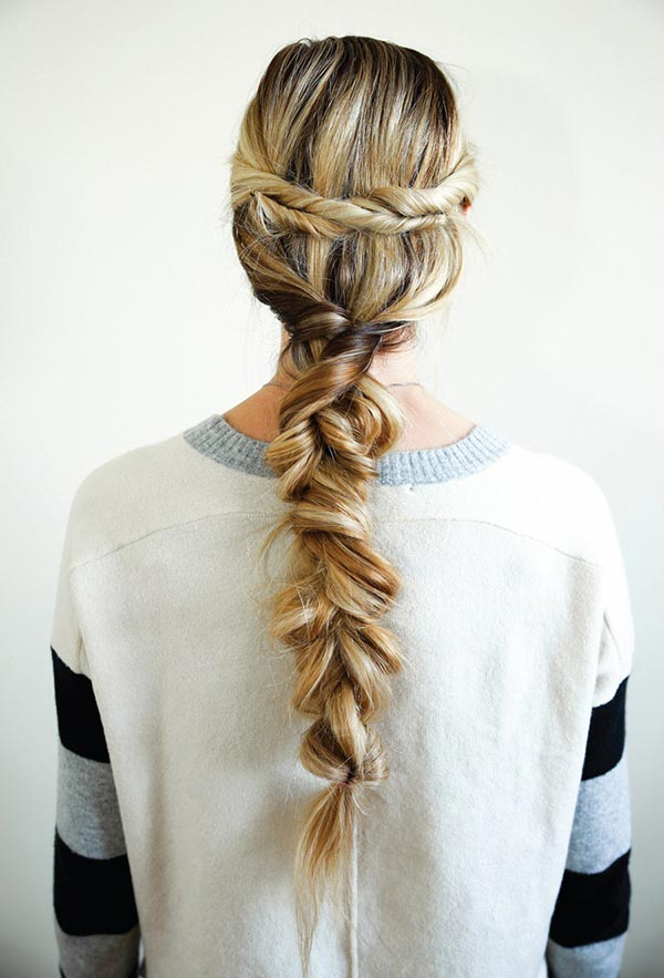 Romantic Hairstyle Tutorials for Valentine's Day: Twisted Braid