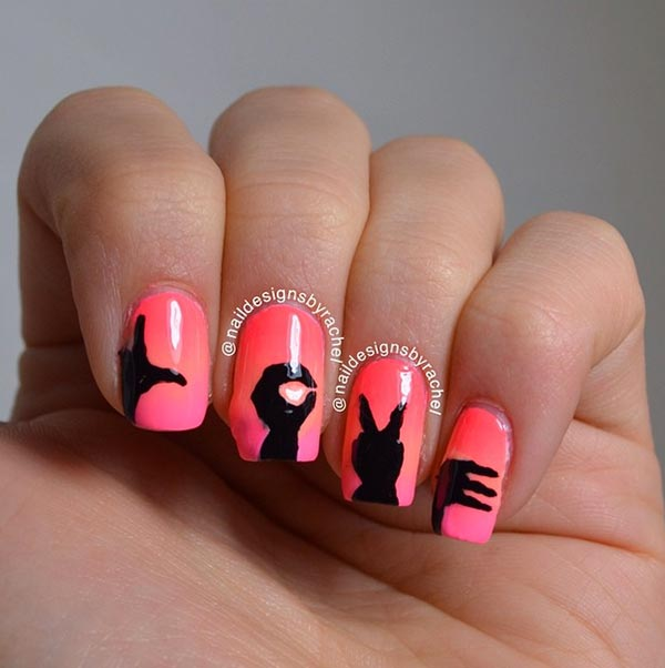 6 Pretty Valentines Day Nail Art Ideas From Instagram Fashionisers