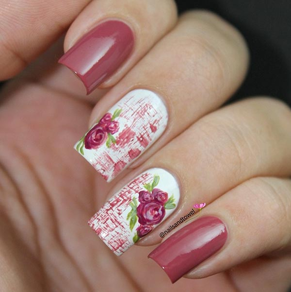 6 Pretty Valentine\'s Day Nail Art Ideas from Instagram | Fashionisers