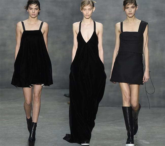 Vera Wang Fall/Winter 2015-2016 Collection – New York Fashion Week