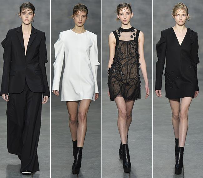 Vera Wang Fall/Winter 2015-2016 Collection – New York Fashion Week