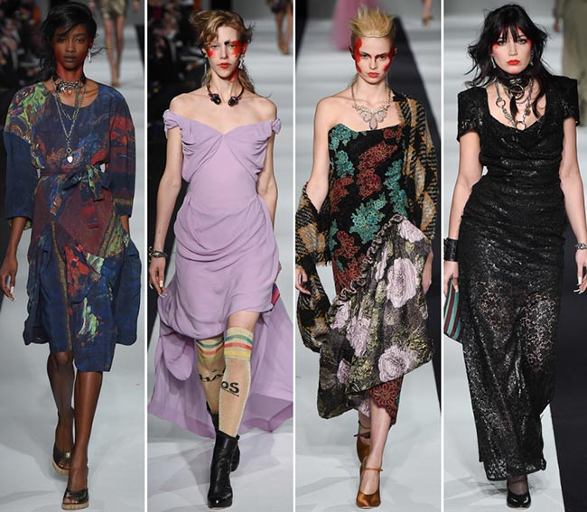 Vivienne Westwood Red Label Fall/Winter 2015-2016 Collection - London Fashion Week