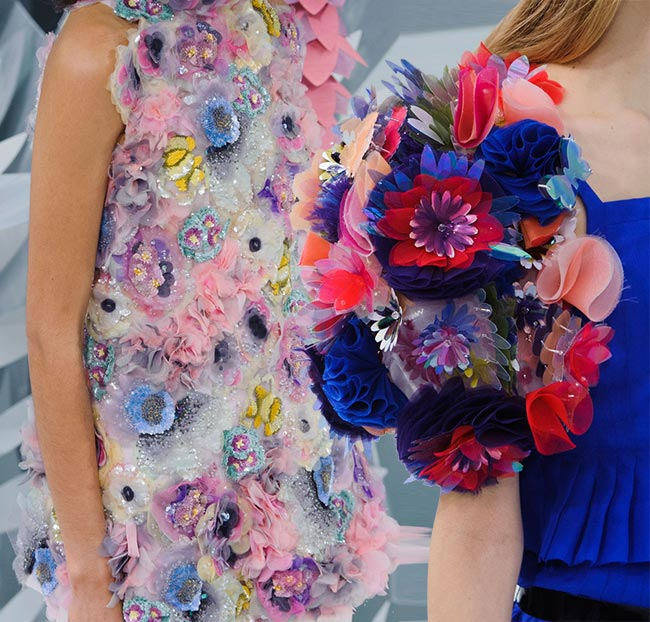 Spring 2015 Floral Couture Trend: Chanel