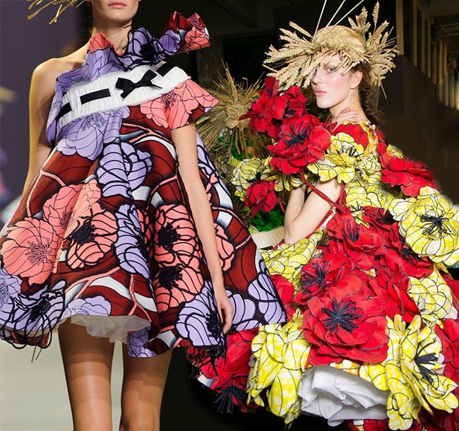 Spring 2015 Floral Couture Trend: Viktor & Rolf
