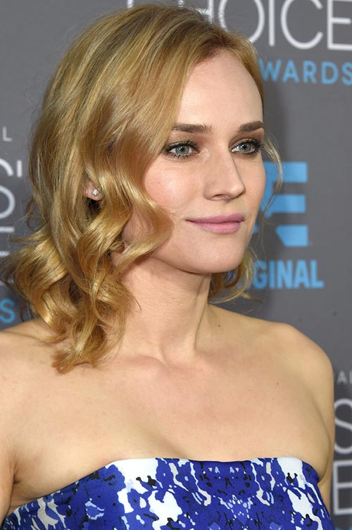 Trendy Hair Colors for Spring 2015: Diane Kruger Blonde Hair