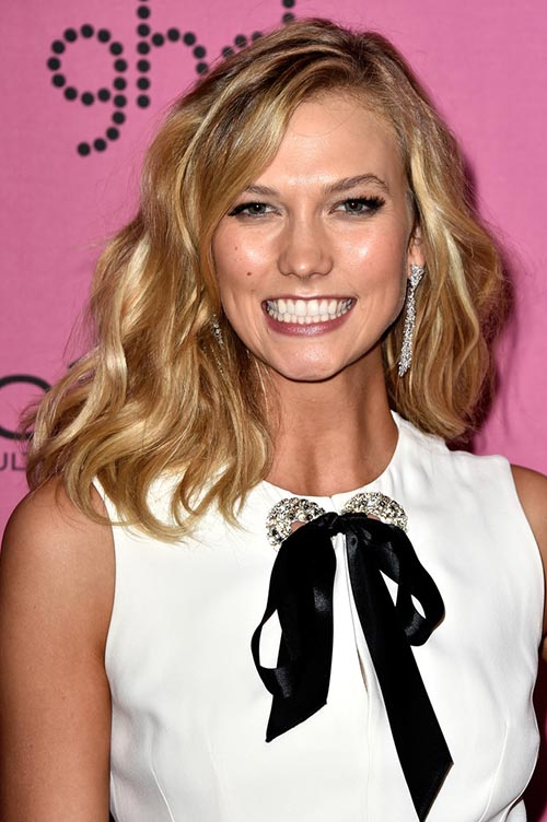 Trendy Hair Colors for Spring 2015: Karlie Kloss Blonde Hair