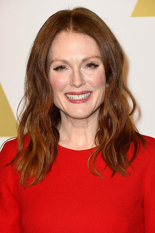 Trendy Hair Colors for Spring 2015: Julianne Moore Red Hair