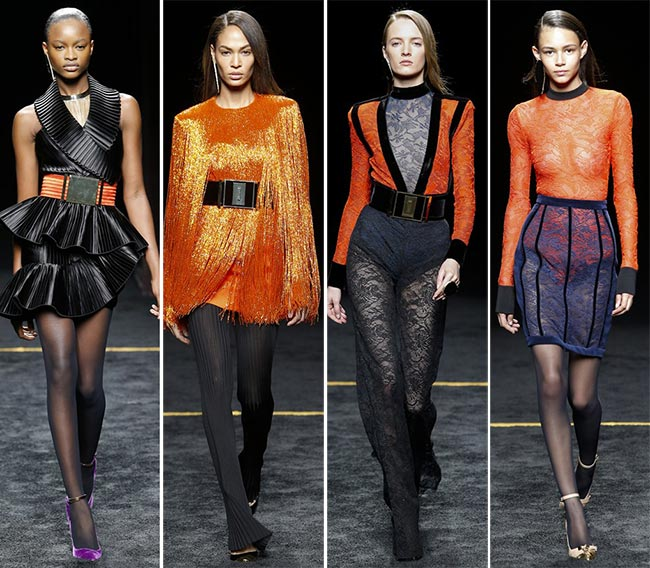 Balmain Fall/Winter 2015-2016 Collection – Paris Fashion Week