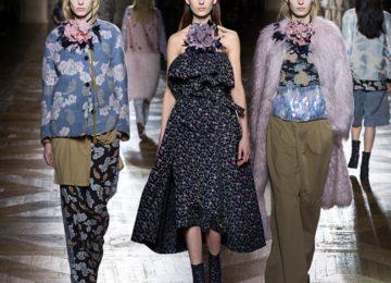 Dries Van Noten Fall/Winter 2015-2016 Collection – Paris Fashion Week
