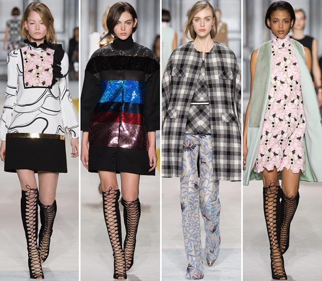 Giambattista Valli Fall/Winter 2015-2016 Collection - Paris Fashion Week