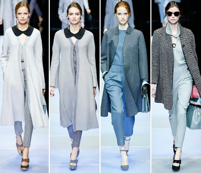 Giorgio Armani Fall/Winter 2015-2016 Collection - Milan Fashion Week