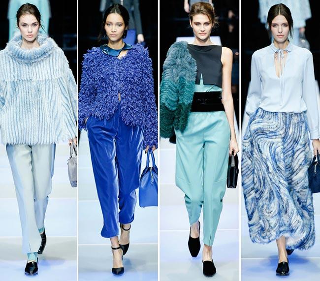 Giorgio Armani Fall/Winter 2015-2016 Collection - Milan Fashion Week