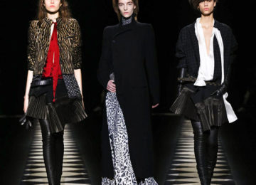 Haider Ackermann Fall/Winter 2015-2016 Collection – Paris Fashion Week