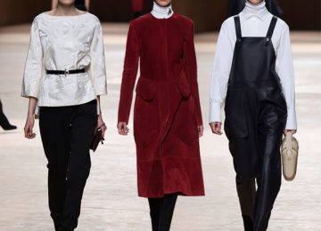 Hermes Fall/Winter 2015-2016 Collection – Paris Fashion Week