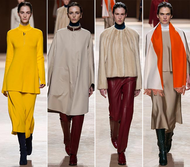 Hermes Fall/Winter 2015-2016 Collection - Paris Fashion Week