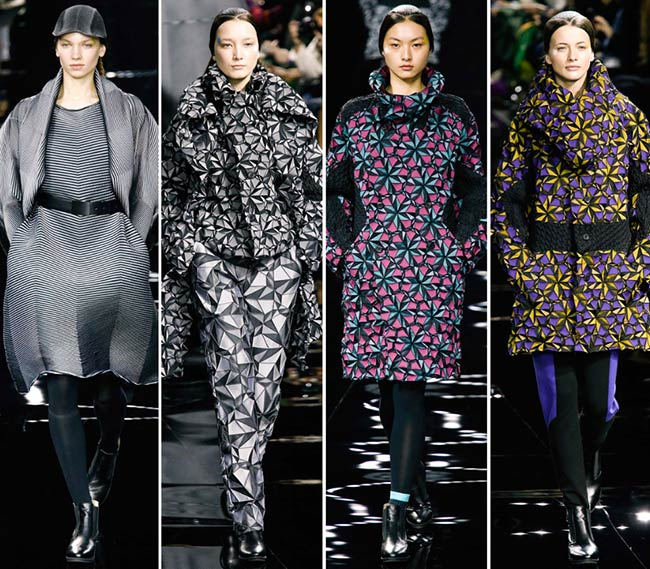 Issey Miyake Fall/Winter 2015-2016 Collection - Paris Fashion Week