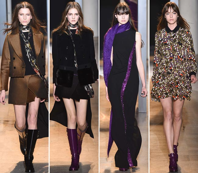 John Galliano Fall/Winter 2015-2016 Collection - Paris Fashion Week