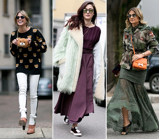Milan Fashion Week Fall 2015 Street Style