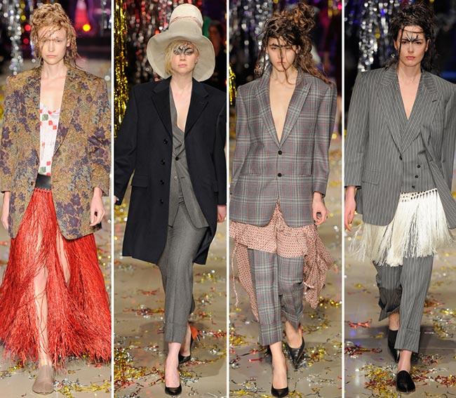 Vivienne Westwood Fall/Winter 2015-2016 Collection - Paris Fashion Week