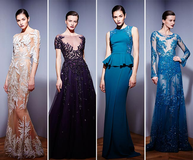 Zuhair Murad Fall/Winter 2015-2016 Collection - Paris Fashion Week