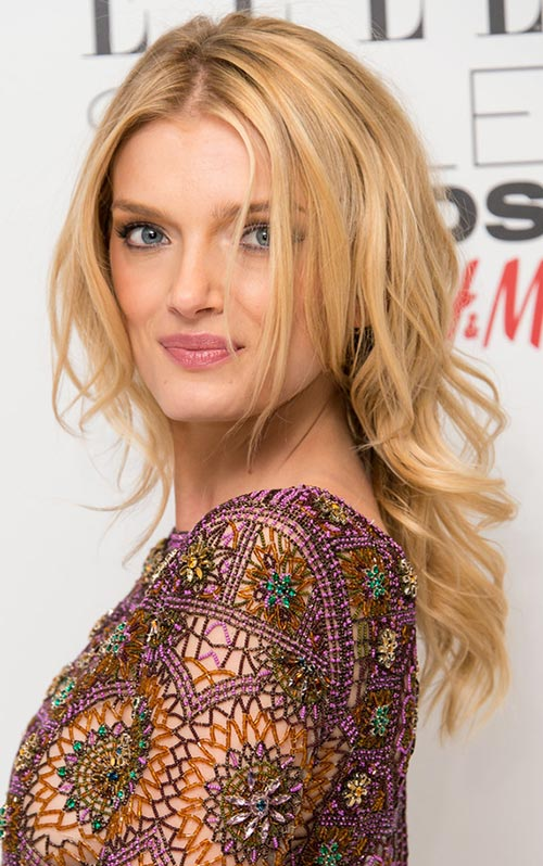 Casual Spring Hairstyles: Lily Donaldson Wavy Hair