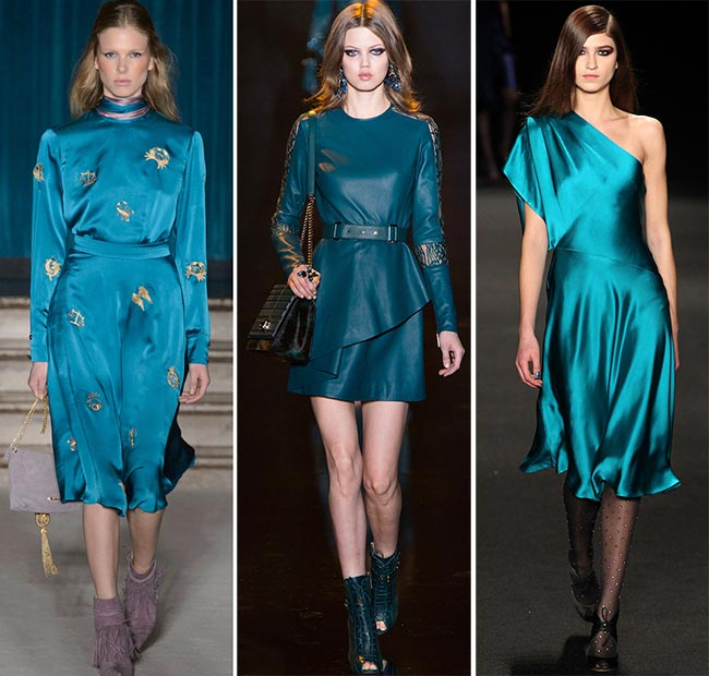 Fall/ Winter 2015-2016 Color Trends: Biscay Bay Teal