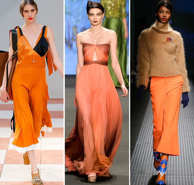 Fall/ Winter 2015-2016 Color Trends: Cadmium Orange