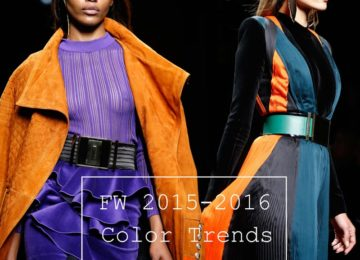 Fall/ Winter 2015-2016 Color Trends