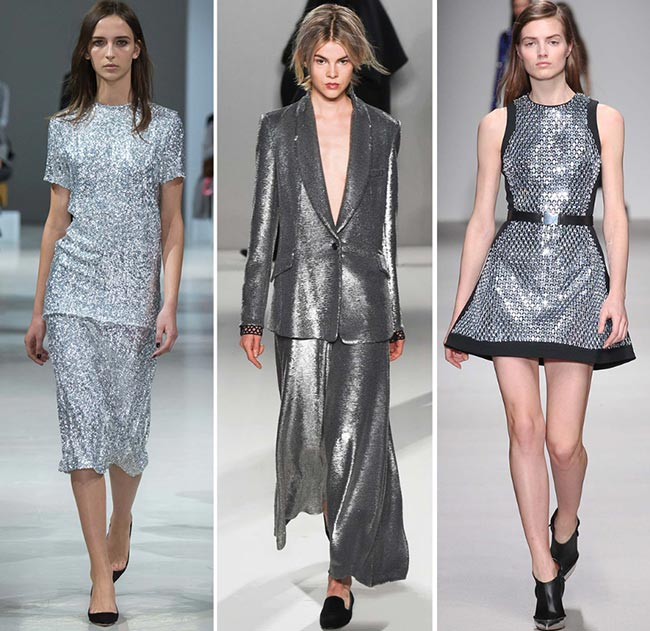 Fall/ Winter 2015-2016 Color Trends: Metallic Silver