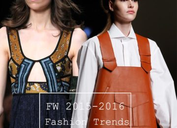 Fall/ Winter 2015-2016 Fashion Trends