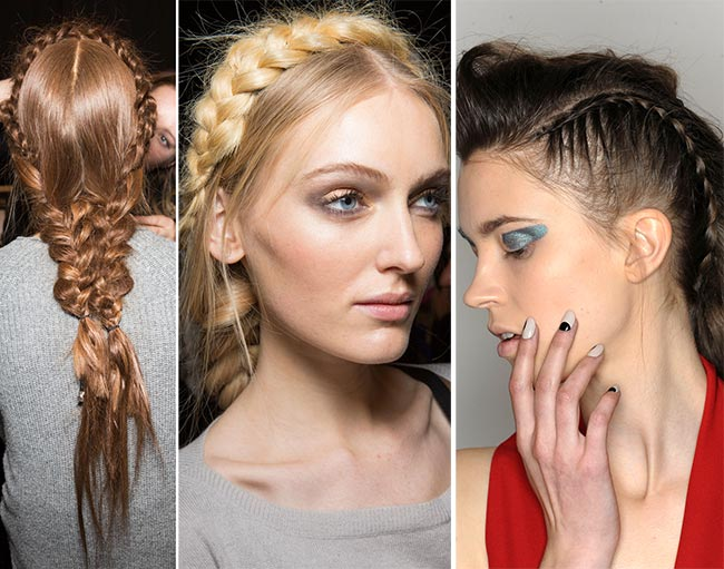 fall winter 2015 2016 hairstyle trends braided hairstyles