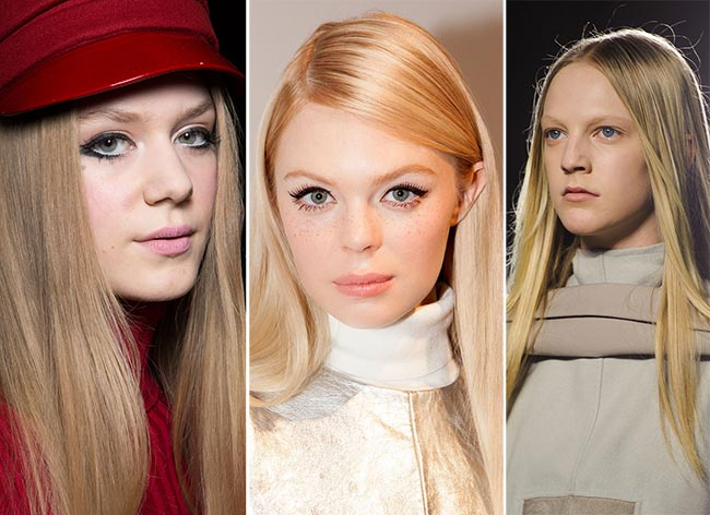 Fall/ Winter 2015-2016 Hairstyle Trends: Straight Hair