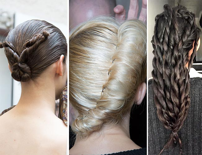 Fall/ Winter 2015-2016 Hairstyle Trends: Twisted Hairstyles