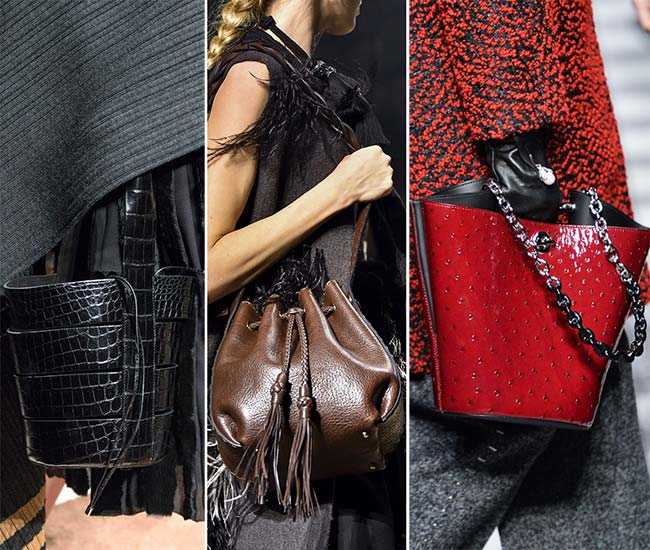 Fall/ Winter 2015-2016 Handbag Trends: Bucket Bags