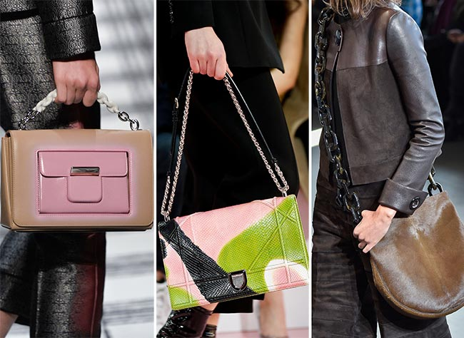 Fall/ Winter 2015-2016 Handbag Trends: Chain Strap Handbags