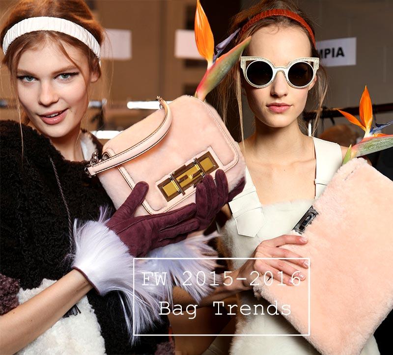 adcfe377c3 Fall  Winter 2015-2016 Handbag Trends