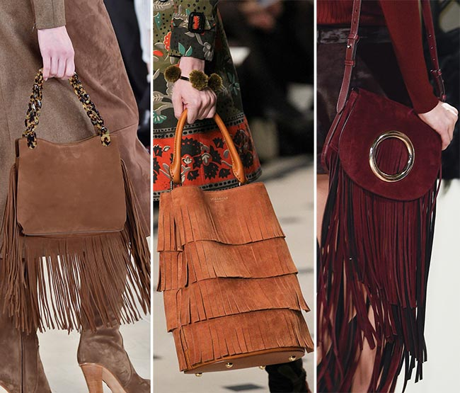 Fall/ Winter 2015-2016 Handbag Trends: Fringed Handbags
