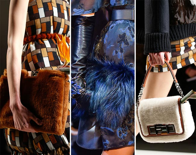 Fall/ Winter 2015-2016 Handbag Trends: Fur Handbags